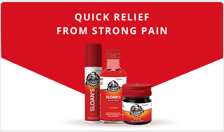 Sloan's Muscle Pain Relief Products